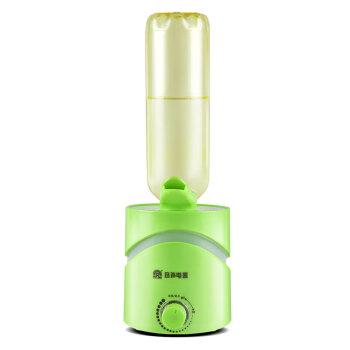 ヨウウセイミニ加湿器用ミネラルウォーターボトル家庭用リビング静音运転オフアロマ増湿机携帯グリーン