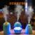 加湿器usb mini小型空気家庭用オレフェブ置き学生寮車載スプレー可愛い静音運転趣蛋款(青)