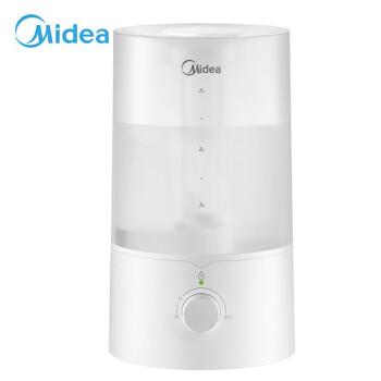 ミディア(Midea)加湿器ミニロマ机高出雾加水家庭用静音运転大容量エアコンパント空気加湿器SC-30 E 40ホワイト
